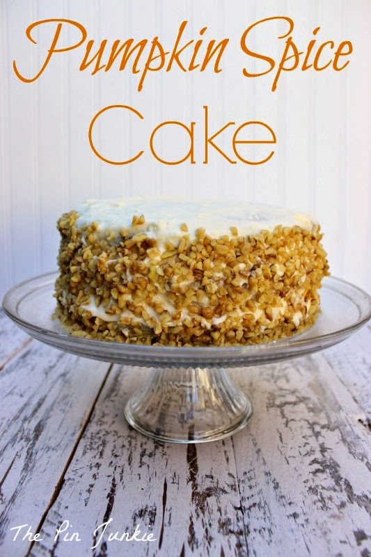 The Pin Junkie: Pumpkin Spice Cake