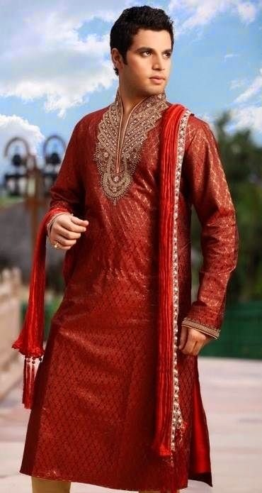 Eid 2014 khaadi Kurta Designs For Men