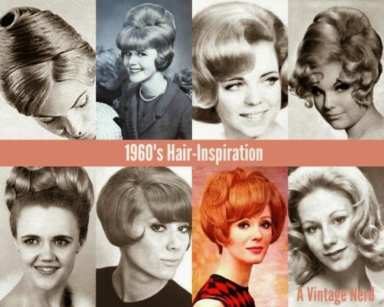 1960s Hair Inspiration A Vintage Nerd