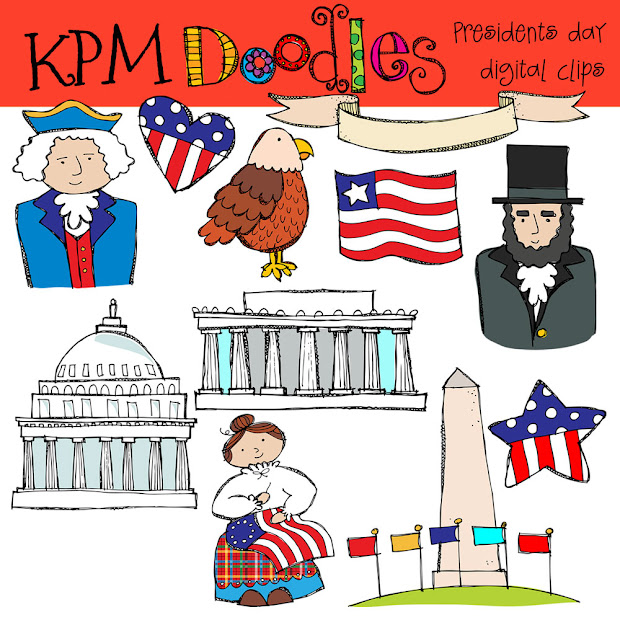 kpm doodles presidents day clip