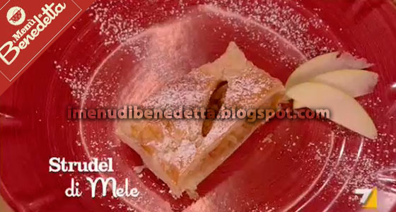 Strudel di Mele di Benedetta Parodi