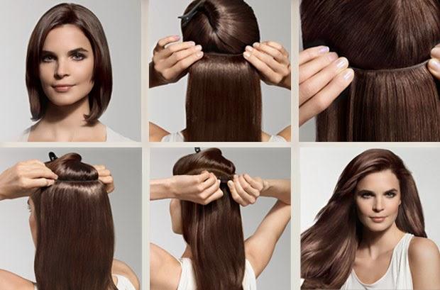 peinados extensiones clip - Extensiones y peinados es vpfashion blog