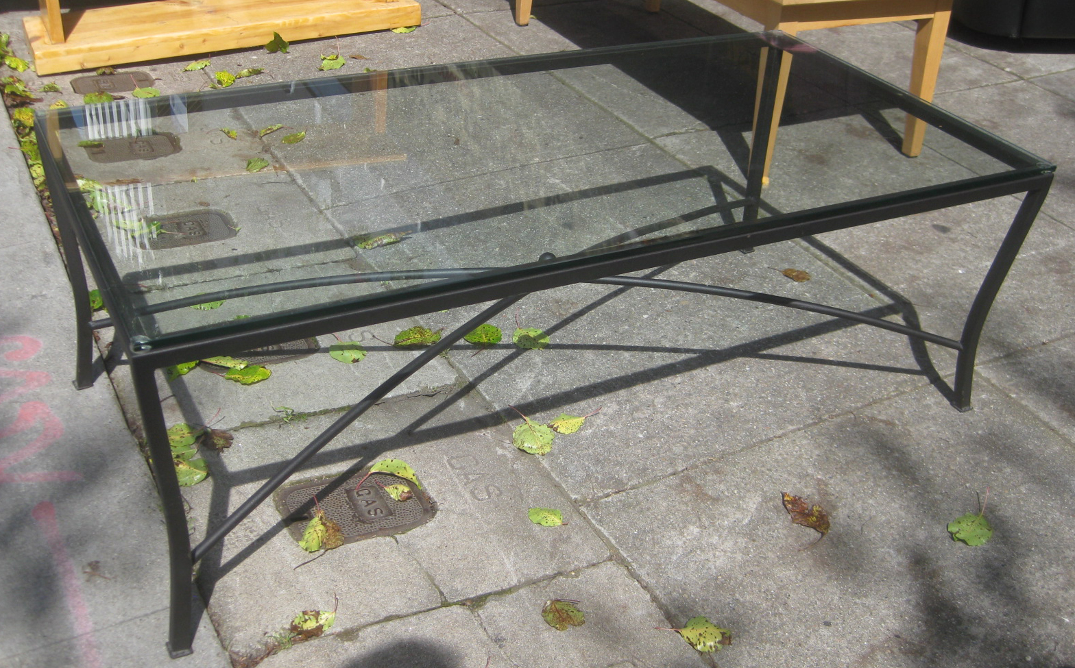 uhuru furniture collectibles sold iron and glass