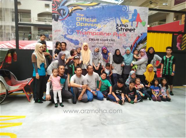 penang jumpstreet, blogger utara, tempat menarik di penang, malaysia trampoline park, extreme game, family time di jumpstreet,