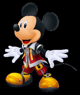 Mickey mouse principe de kingdom hearts
