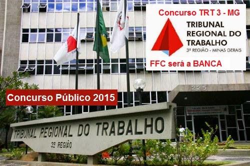 Apostila Preparatória Concurso TRT 3ª Região Técnico e Analista - Minas Gerais - TRT MG 2015.