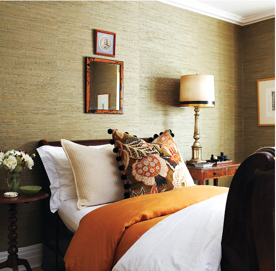 Textured Wallpaper Design For Your Bedroom Decorating