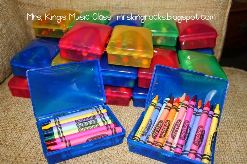 preschool ponderings crayon storage