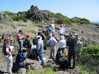 Group near Cap de Creus.