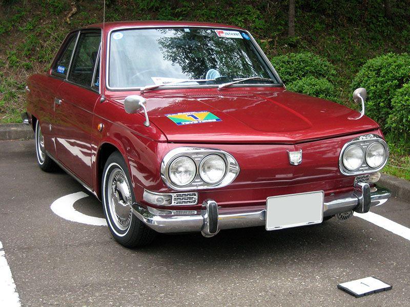 samochody z lat 60, stare auta, Hino Contessa, japońskie coupe