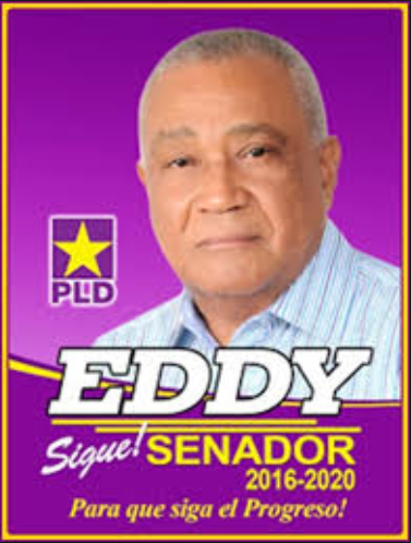 Senador Eddy Mateo