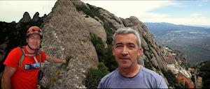Vies Camí de l'Alsina a la Miranda del Pas dels Francesos i Del Cabra sortint per la Canaletes a la