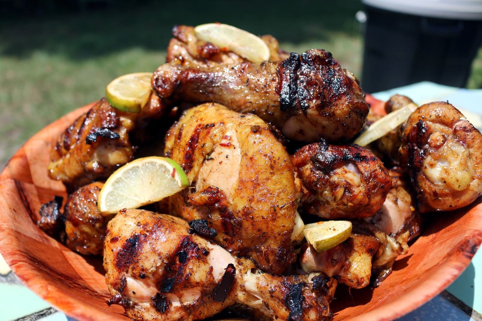 Jerk Chicken with Brown Sugar and Lime