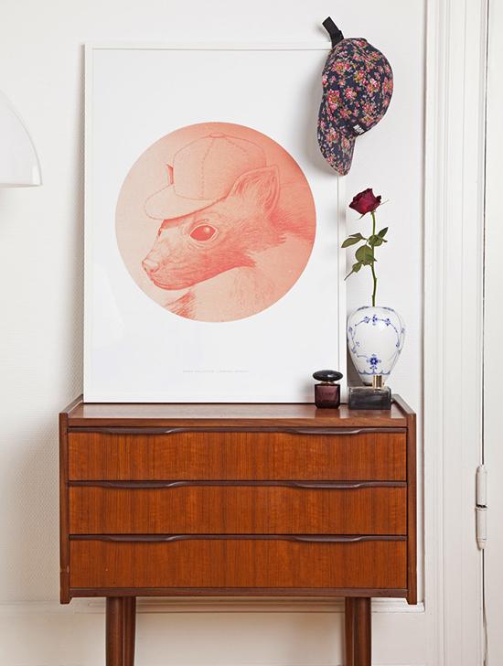 The Marten by Morten Løfberg graphic design poster #art #graphicdesign