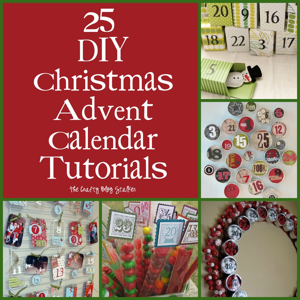 Advent Calendar Ideas Wife : The crafty stalker diy christmas advent calendar