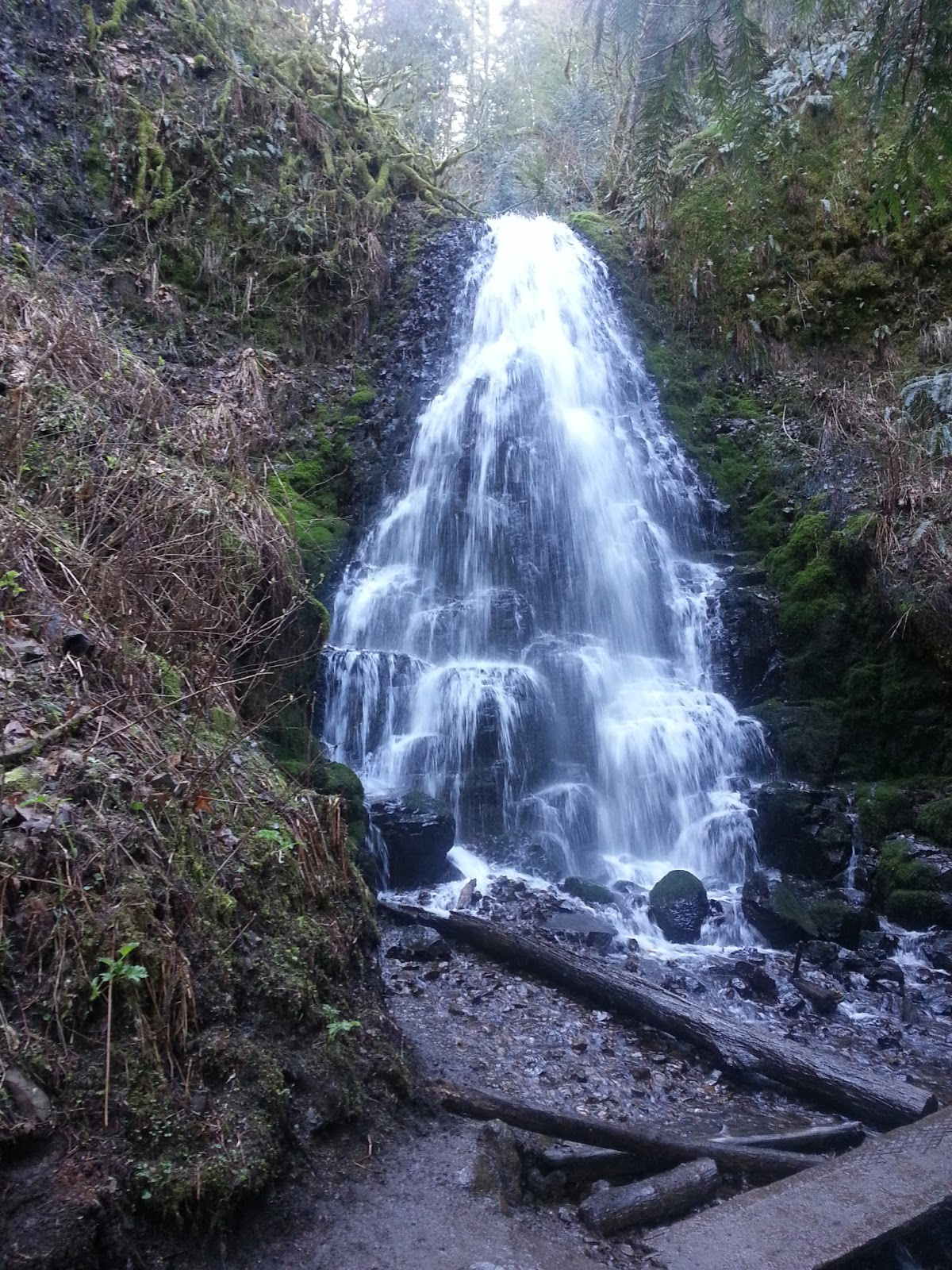 Fairy Falls The Gorge Oregon