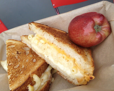 Grilled cheese mac and cheese, American Grilled Cheese Kitchen San Francisco