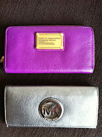 MARC JACOBS CLASSIC Q VERTICAL ZIPPY WALLET