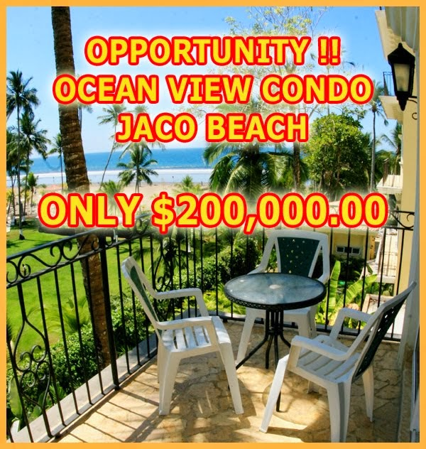 FORECLOSURE CONDO JACO $200,000.00