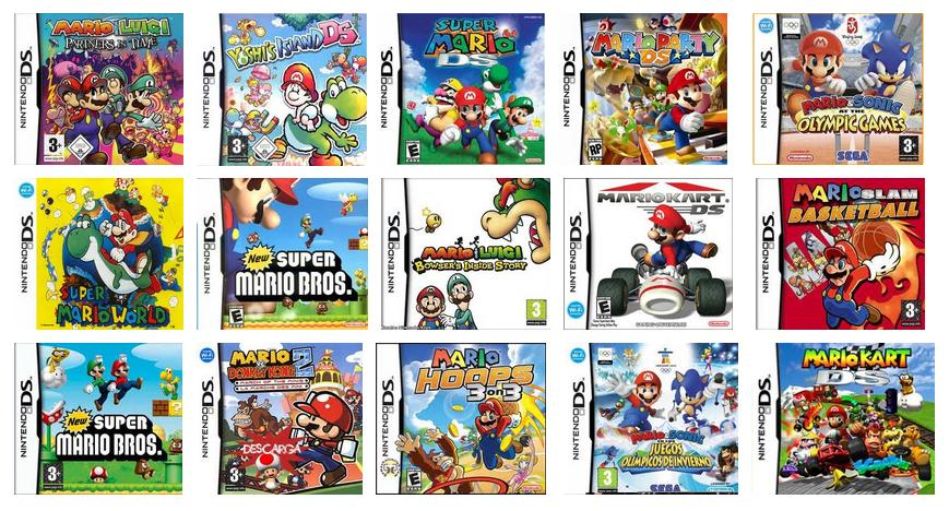 Roms NDS Pack