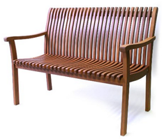 Outdoor Interiors VC6080 Venetian Deluxe Bench