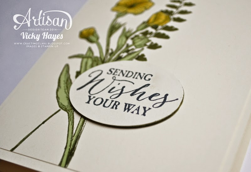How to mount your greeting medallion style