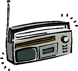 All Cliparts: Radio Clipart