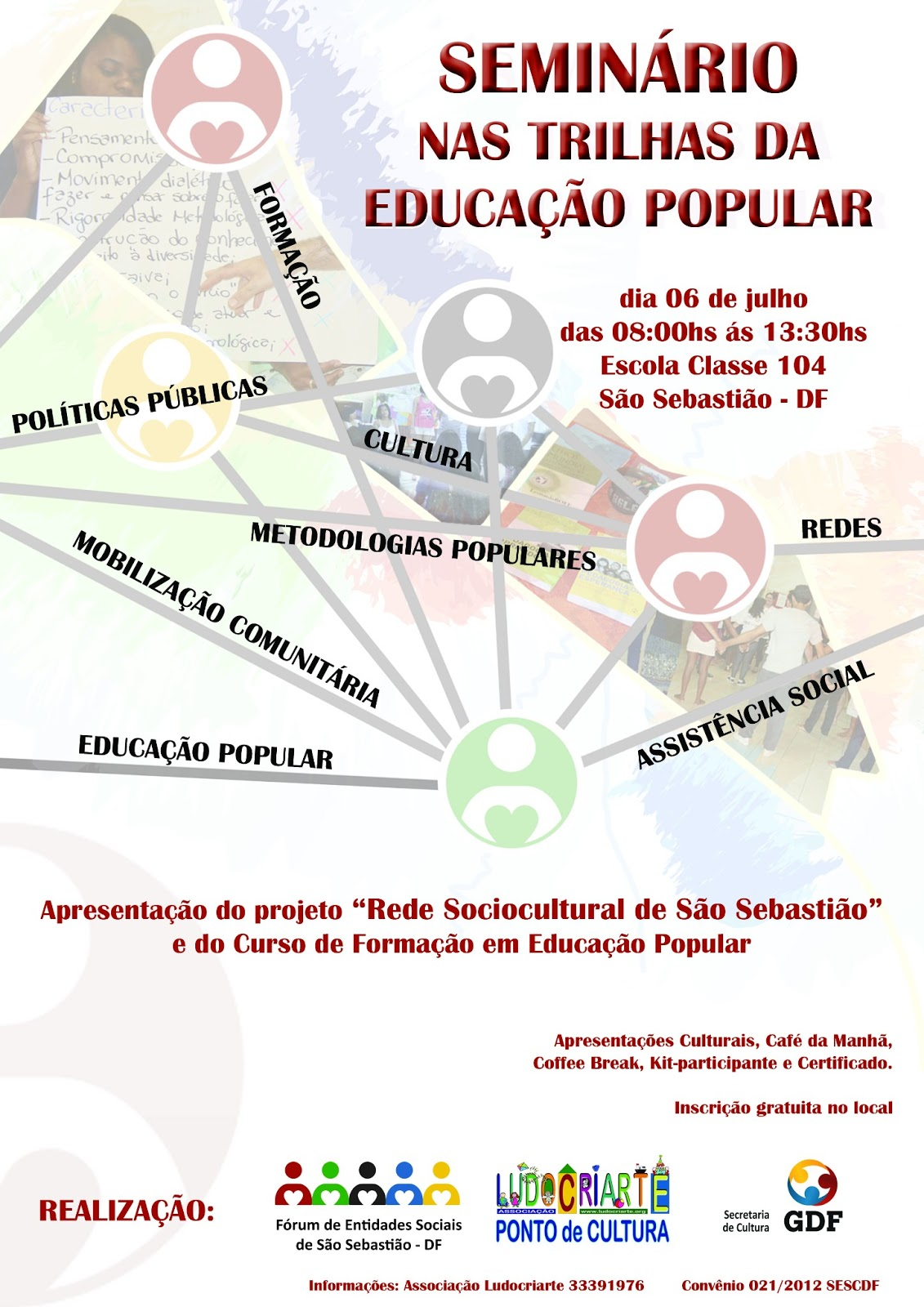 Seminário nas Trilhas da Educação Popular