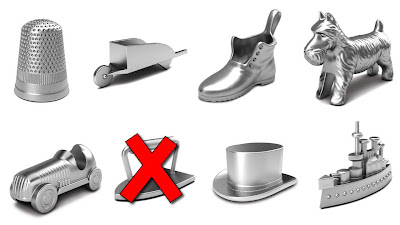 Which Monopoly piece was retired?