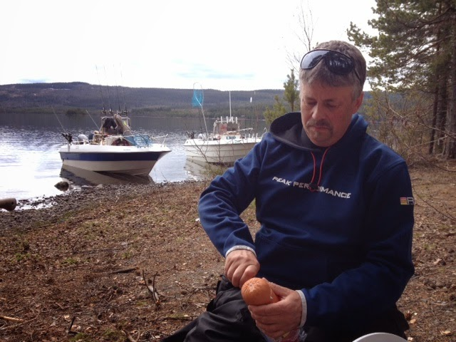 S fishing lunch och umg nge p en de for Elias v fishing