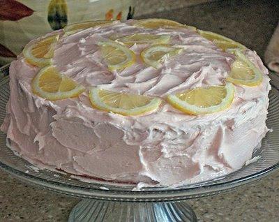 Pink Lemonade Cupcakes Stand
