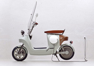 All Hemp All Electric Scooter
