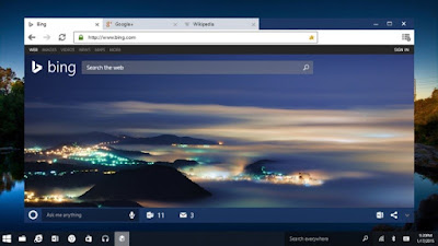Microsoft Windows 10 Spartan browser