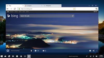 Microsoft Windows 10 Spartan browser