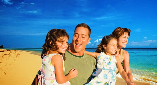 Disfruta las vacaciones en Familia