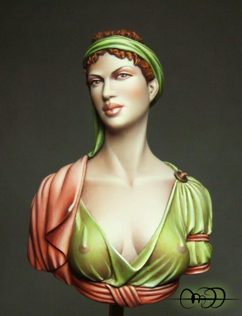 Dame de L´empire Napoléonien por Pepa Saavedra