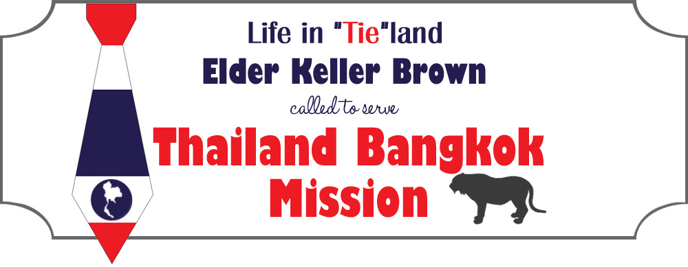 "Life in ""Tie""land Elder Keller Brown called to serve Thailand Bangkok Mission"