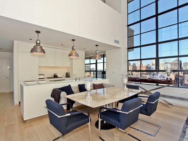 Espectacular Ático Duplex en Nueva York Desafiando el Paisaje Urbano ...