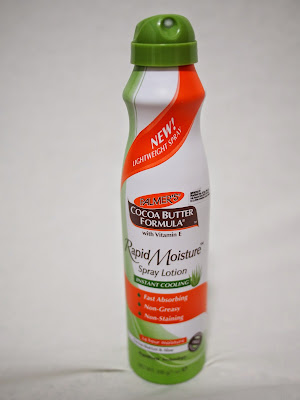 Palmer's Rapid Moisture Spray Lotion For Instant Cooling