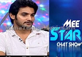Hero Aadi in Mee Star Show