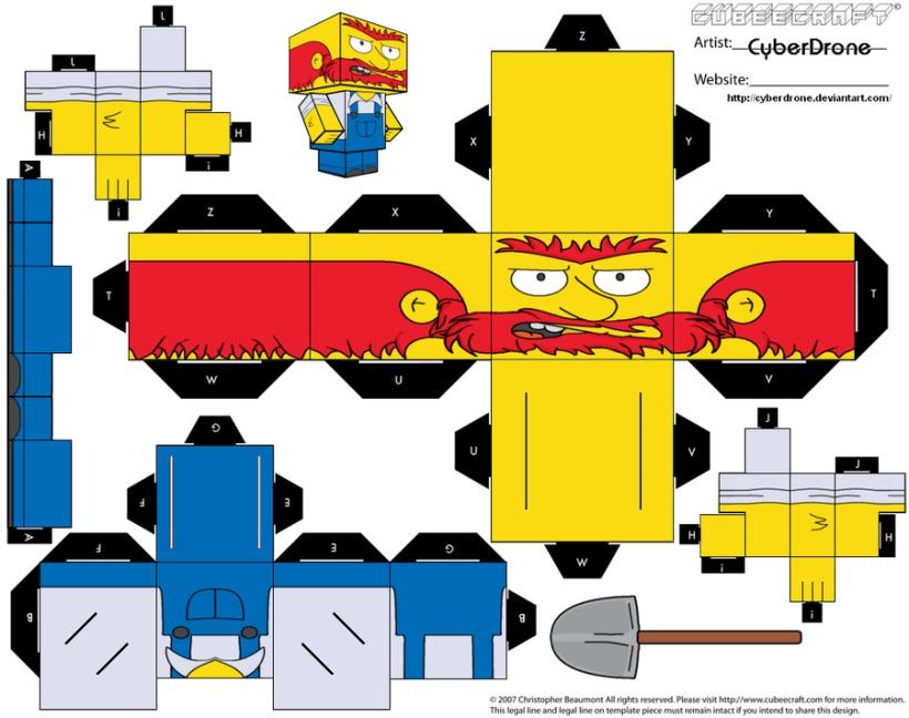 Muñecos armables de papel para imprimir - Taringa!