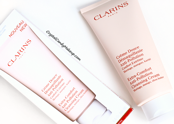 how to use clarins anti pollution cleansing milk