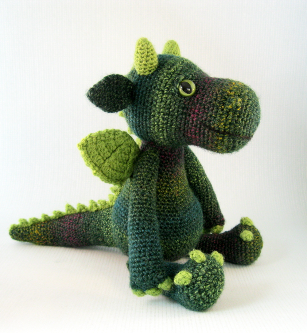 Amigurumi Dragon Wings Pattern : LucyRavenscar - Crochet Creatures: Cuddly Dragon Amigurumi ...