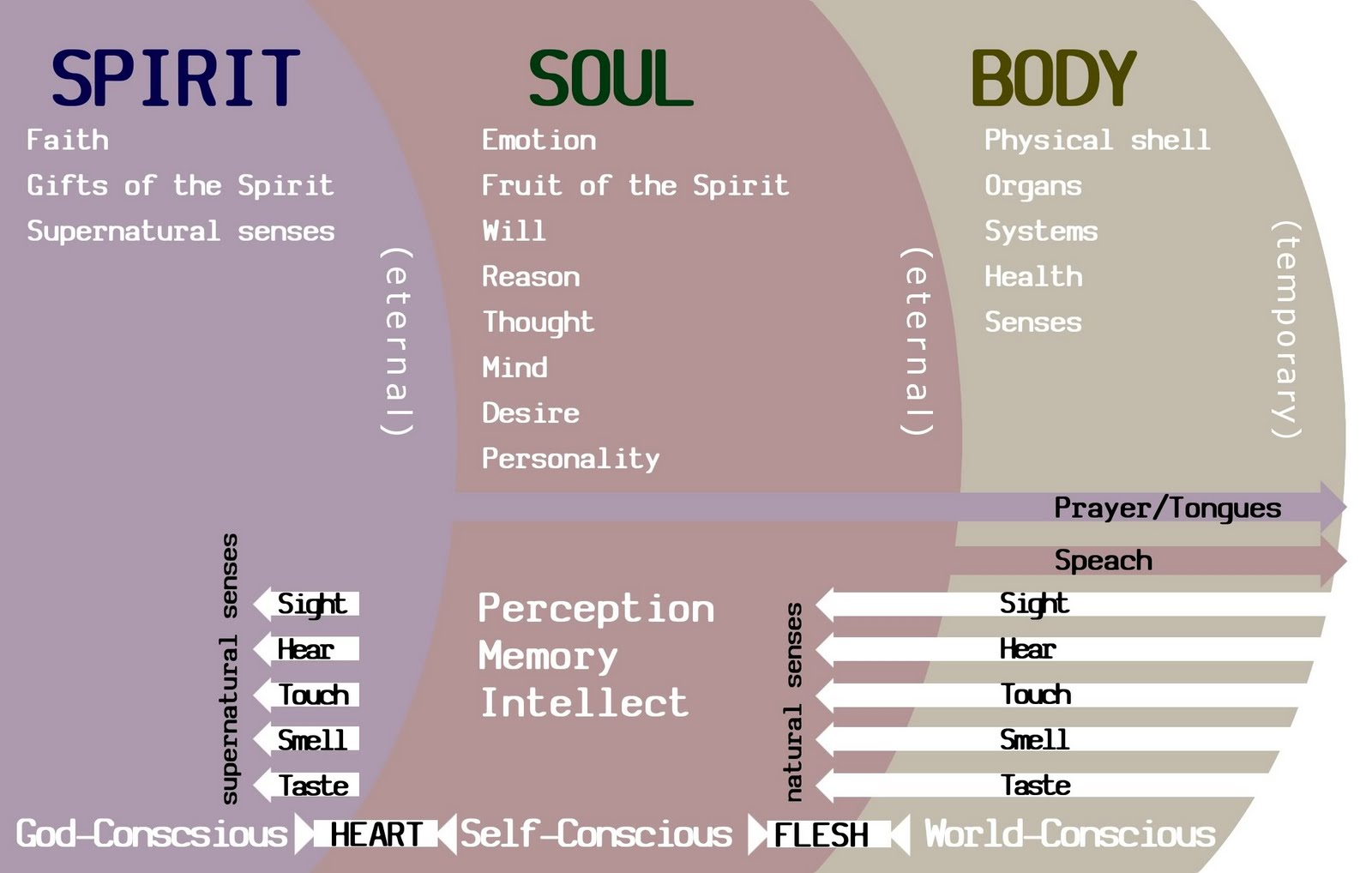 Image result for body soul and spirit