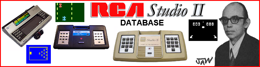 RCA Studio II Database