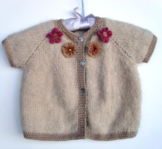 Free Knitting Pattern - top down cardi