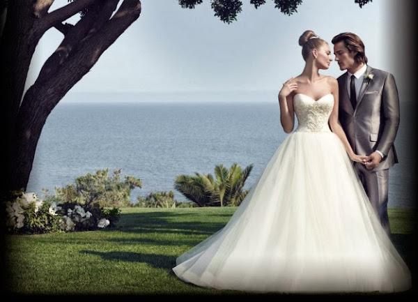 Vestidos de lujo para las novias - coleccion primavera 2014