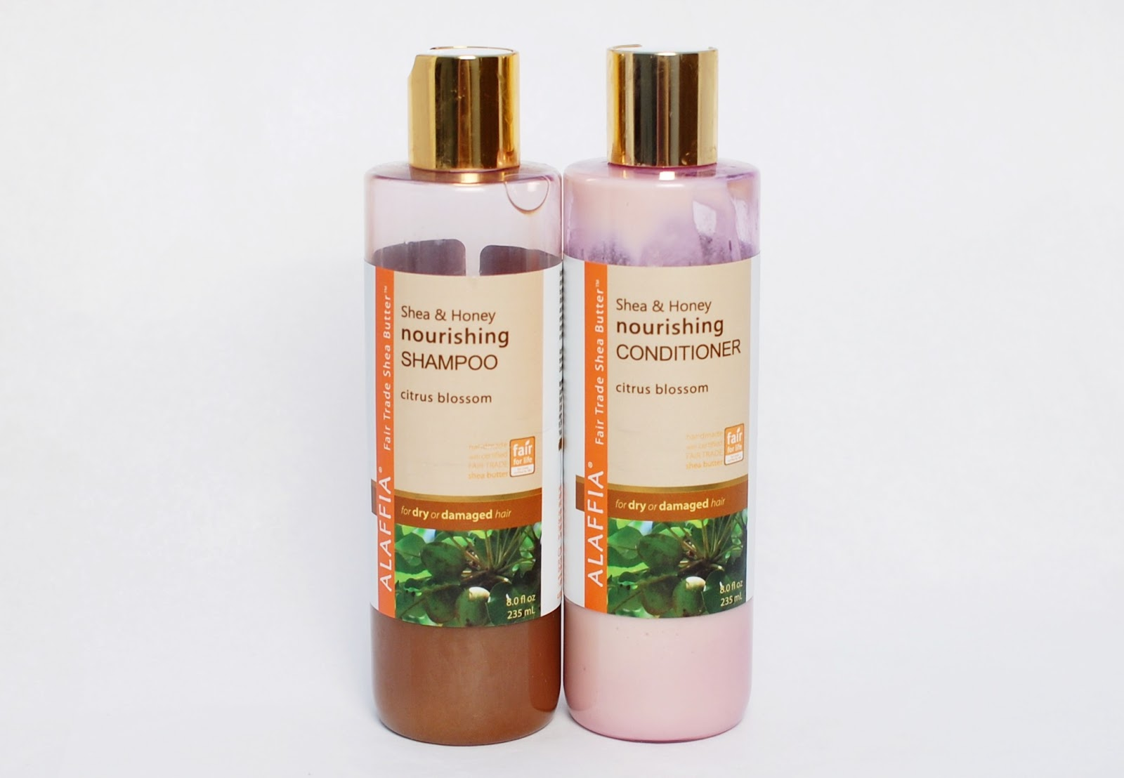 Alaffia Shea&Honey Nourishing Shampoo and Conditioner