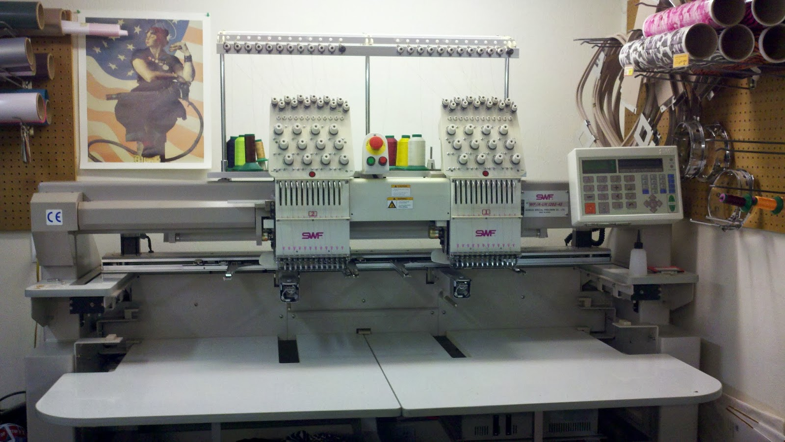 swf embroidery machine for sale