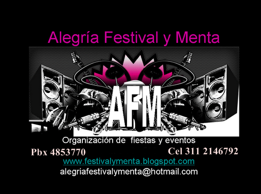 ALEGRIA FESTIVAL Y MENTA